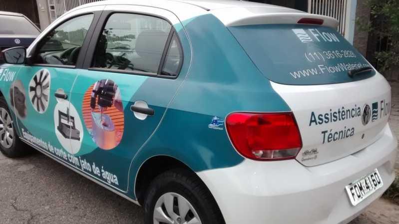 Adesivação de Carros para Divulgação Valores Santo Amaro - Adesivação para Carros de Propaganda