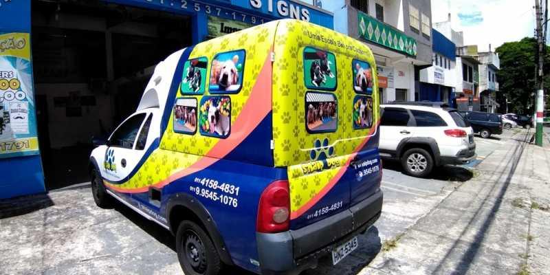 Adesivação dos Carros Vila Cruzeiro - Adesivação de Carros para Empresa