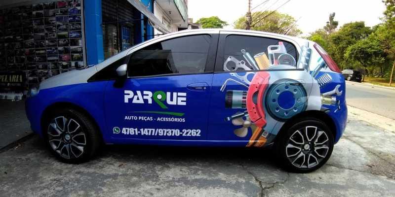Adesivação para Veículos para Propaganda Preços Caieras - Adesivação de Veículos Personalizada