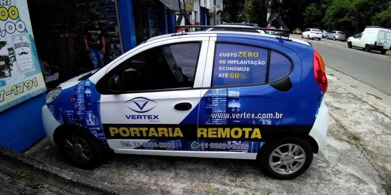 Adesivações dos Carros Vila Romana - Adesivação para Carros Propaganda
