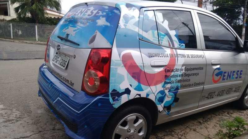Adesivações para Carros de Propaganda Sacomã - Adesivação de Carros para Empresa