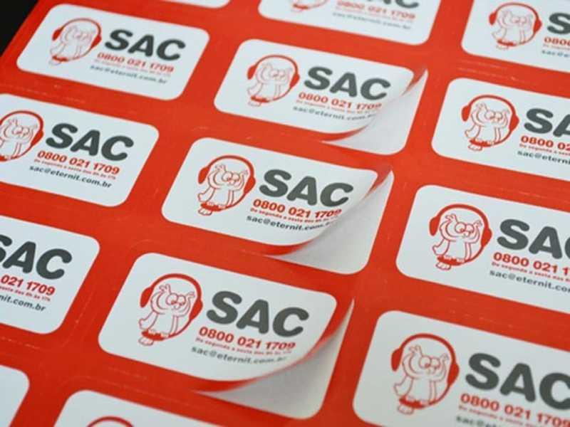 Adesivos Personalizados Redondos Melhor Preço Franco da Rocha - Adesivos Personalizados Atacado