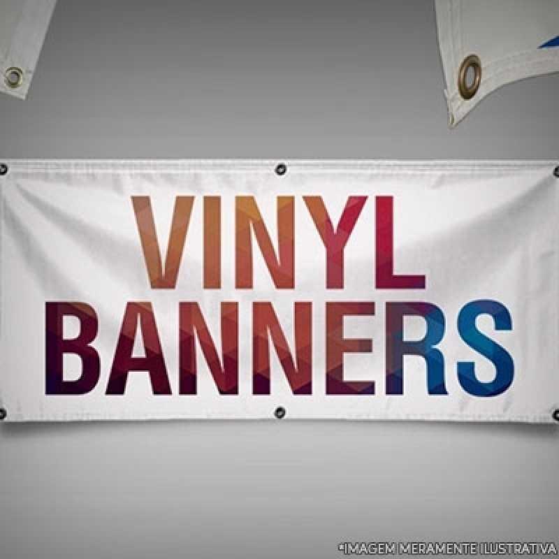 Banner em Lona Preço Barra Funda - Banners