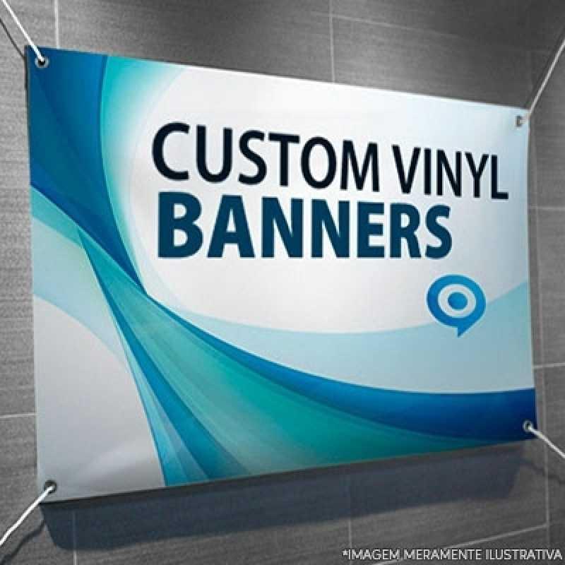Cotação de Banner Azul Brooklin - Banners