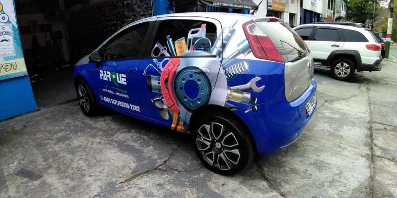 Envelopamento de Veículos Transparente Parada de Taipas - Envelopamento de Veículos Propaganda