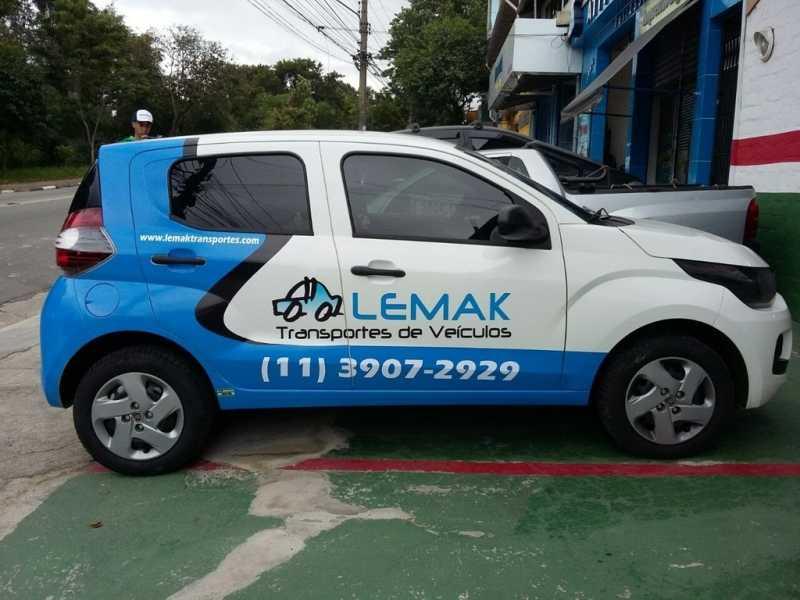 Envelopamento para Automotivo Água Branca - Envelopamento Automóveis
