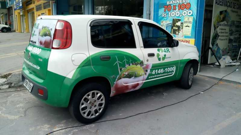 Envelopamento Veículo para Empresa São Domingos - Envelopamento para Veículos