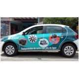 adesivação de carros para divulgação Pinheiros