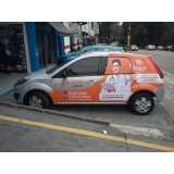 adesivação de carros para empresa Parque do Chaves