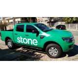 adesivação de veículos para empresa preços Santa Cruz