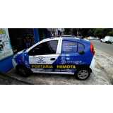 adesivações dos carros Parque Maria Domitila