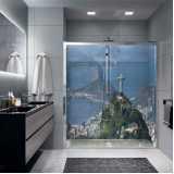 adesivo decorativo para banheiro Vila Esperança