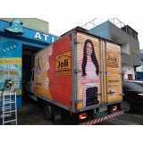 adesivo personalizado caminhão Vila Pompeia