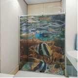 adesivo decorativo para banheiro
