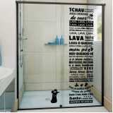 adesivos decorativos para banheiro Itaim Bibi