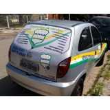 custo de adesivação de veículos para propaganda Chácara do Piqueri
