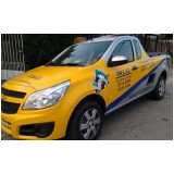 envelopamento veículo comercial Raposo Tavares