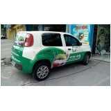 envelopamento veículo para empresa Rio Pequeno