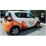 serviço de envelopamento veículo para empresa Anália Franco