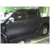 serviço de envelopamento veículo preto Butantã